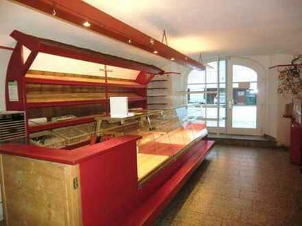Gewölbelokal ideal für Ristorante, Pizzeria, Cafe, Eisdiele - mit gr. Pächter- Whg. & 6 Fe.- Wo.