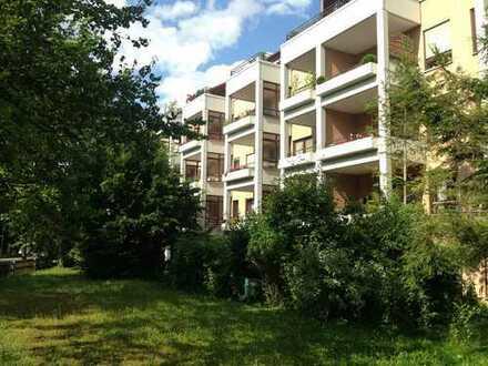 Komfortable 2-Zimmer-Wohnung mit Terrasse und Gartenanteil