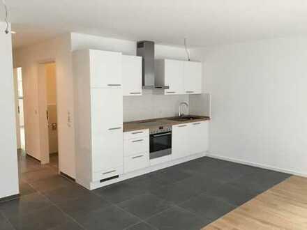 Neuwertige, 2-Zimmer-Wohnung mit Terrasse, exklusiver Einbauküche & Stellplatz in absoluter Citylage