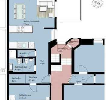 Zentrale, exklusive und individuelle 3,5-Zimmer-Wohnung im kernsanierten Objekt (ab 2022)