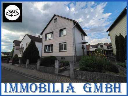 IN RUHIGER UMGEBUNG - Freistehendes 1-2 Fam. Haus mit Garten in 66497 Contwig/Stambach