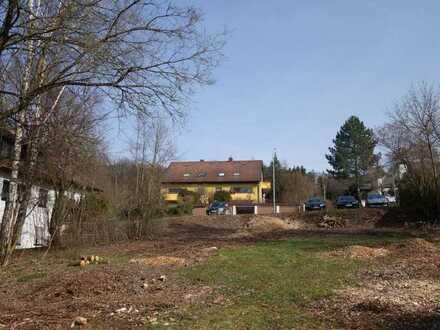 Grundstück am Waldrand in Forchheim West