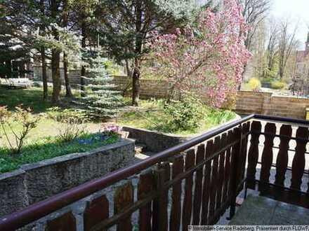 Gemütliche 2-Raum-Wohnung mit Balkon und Garten