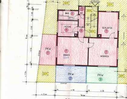 Ansprechende, gepflegte 3-Zimmer-Wohnung zur Miete in Pfalzgrafenweiler
