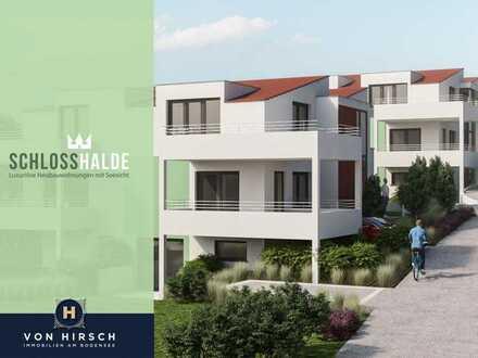Schlosshalde - Luxuriöse Gartengeschoss Neubauwohnung mit Seesicht
