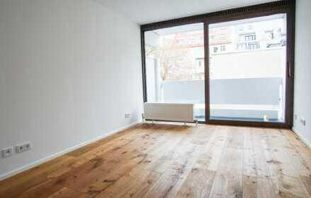 leeres 1-Zimmer-Apartment Univiertel-Maxvorstadt! *Bestlage mit Balkon, frisch saniert!*