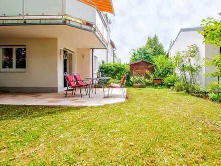 Mit Privatgarten! Schöne Maisonette mit 2 Schlafzimmern und 2 Bädern