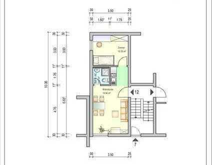 2 Zimmer-Wohnung *NUR FÜR STUDENTEN* in Eppelheim (Besichtigung siehe SONSTIGES)