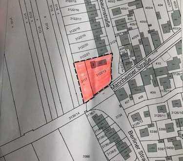 1486 m² Baugrundstück in guter Lage von Heddesheim