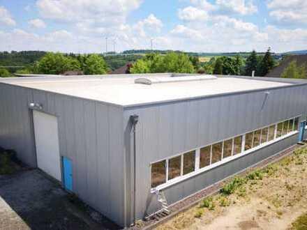 Produktions-/ Lagerhalle (ca. 500 m²) in 55469 Simmern/Hunsrück zu vermieten