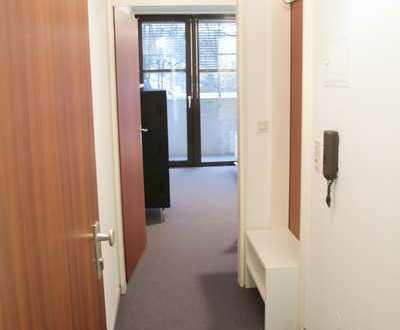 Möbliertes 1-Zimmer Apartment mit Balkon und Stellplatz
