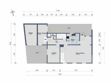 Schönes, geräumiges Haus mit vier Zimmern in Ludwigsburg (Kreis), Kornwestheim