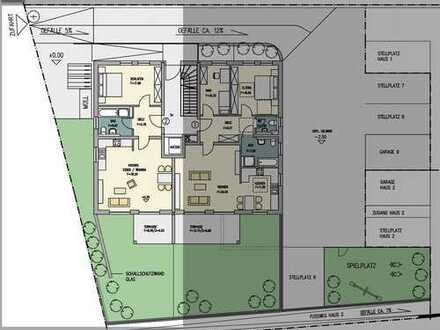 **RESERVIERT** Große 1,5-Zimmer Terrassenwohnung mit eigenen 61qm Garten
