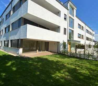 3-4 Zimmer Wohnung mit ca. 280 m² großem Garten und herausragender Ausstattung