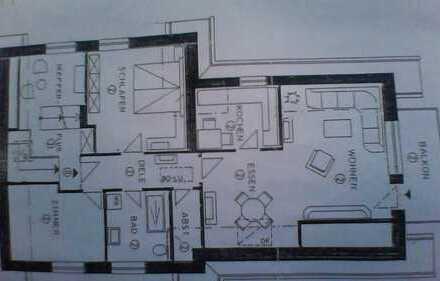 3,5-Zimmer Wohnung mit Balkon in Ahaus-Wessum