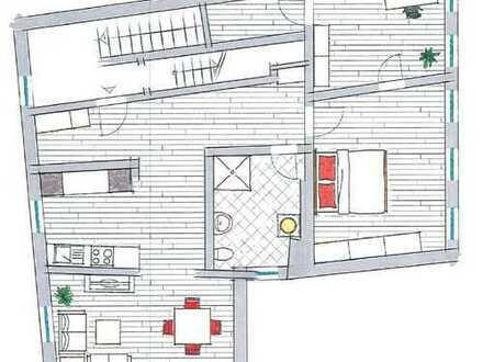 Modernisierte 3-Zimmer-Wohnung mit EBK in Nottuln
