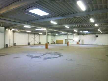 Halle mit Büro- und Sozialräume als Anlageobjekt zu verkaufen.