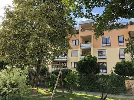 sonnige Wohnung mit Südbalkon in zentraler Lage von Schwabmünchen