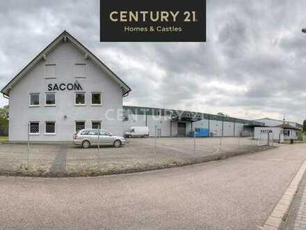 5.150 m² Hochregallagerfläche und Bürogebäude mit Steuervorteil