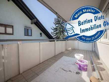 DIETZ: Modernisierte 4-Zimmer-Wohnung mit Balkon, Gäste-WC inkl. PKW-Stellplatz