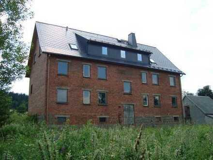 Apartmenthaus als Ausbauhaus in Toplage von Holzhau
