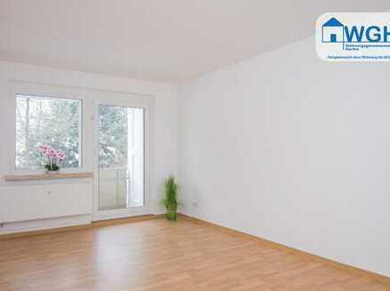 Ideales Wohnidyll für Zweisamkeit - vorgerichtete 2-Raumwohnung mit Balkon!
