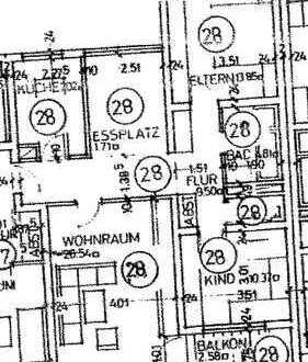 Schöne drei Zimmer Wohnung in Böblingen (Kreis), Böblingen