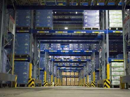 Bis zu 4.000m² freie Lagerflächen/ auch in Teilflächen verfügbar