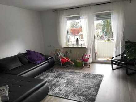 Schöne 3 ZKB Wohnung in Augsburg, Haunstetten 70qm Südbalkon