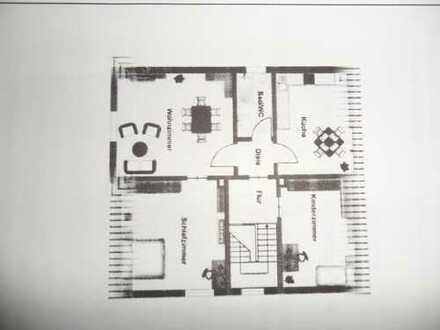 Modernisierte 4-Zimmer-Wohnung mit großer Terrasse in Dortmund Wickede. Bad 2013 kompl. erneuert. k