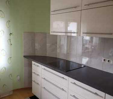 Gepflegte 4-Raum-Maisonette-Wohnung mit Balkon und Einbauküche