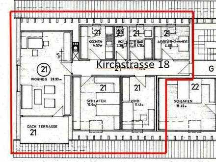 geräumige 4-Zimmer-Dachgeschoss Wohnung im Zentrum von Pfuhl