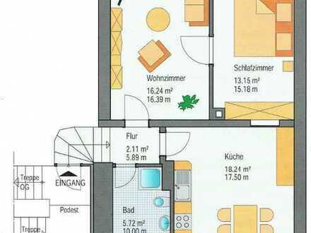 2-Raumwohnung in ruhiger Lage ***Stellplatz, Einbauküche***
