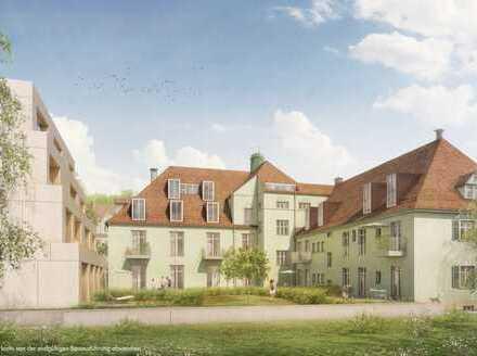 Mit Steuervorteil zur Immobilie. 4 Zi.-DG-Wohnung mit Fernblick in einzigartigem Baudenkmal