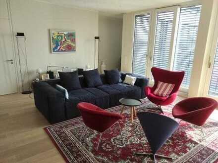 Ab 2022 Penthouse mit 5 oder 6 Zimmern, schöner Weitblick und Panaoramaterrasse!