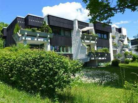 1 Zimmer Apartement mit Balkon nach Süden und traumhaftem Blick in die Alpen