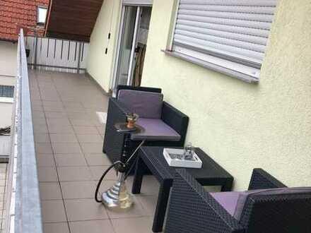 4-Zimmer-Wohnung mit Balkon und Einbauküche in Bachstr, Bad Friedrichshall