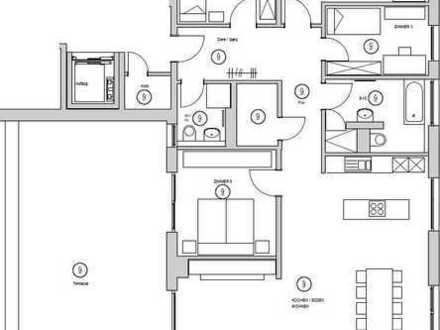 Mit über 170m² auf einer Etage wohnen / 5-6 Zimmerwhg.
