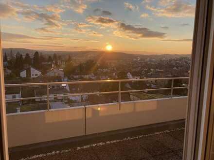 Großzügige Penthouse Wohnung mit fantastischer Aussicht in Bretten