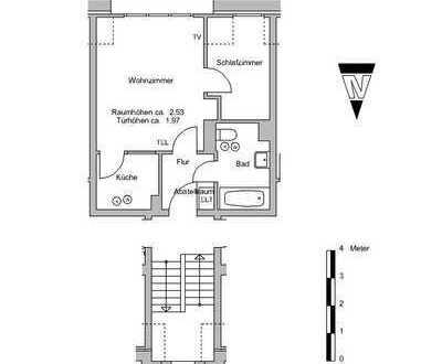 2 Zimmer Wohnung in Sebalsbrück zu vermieten, Wohnberechtigungsschein pflichtig!