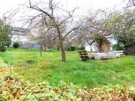 ZWEI sehr schöne, flache Grundstücke mit Obstgarten zentral in Wilnsdorf-WILGERSDORF !!!