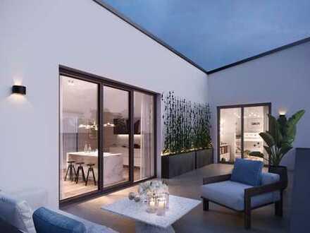 Komfortabel Wohnen mit viel Raum zum Wohlfühlen: Penthouse in Friedberg, Erstbezug
