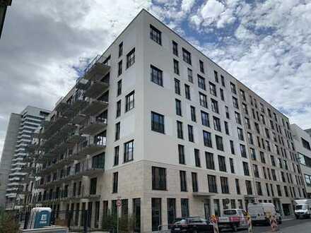 Zentral & ruhig - hochwertig ausgestattete 1-Zimmerwohnung mit Balkon und Skylineblick (Erstbezug)
