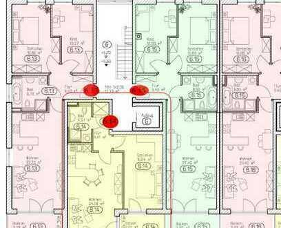 Schöne zwei Zimmer Wohnung in Kaufbeuren, Kaufbeuren (Kernstadt)