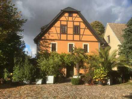 Schöne, helle Wohnung in historischem Gebäude in Nossen OT Starbach
