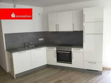 Außergewöhnliche 2-Zimmer-Wohnung mit Loggia, Einbauküche, modernes Bad und Aufzug