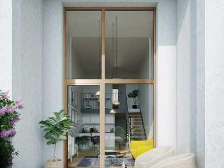 Ein Appartement der Extraklasse mit Loft-Charakter und eigenem Garten