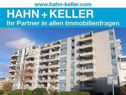 Gepflegte 3 Zimmer-Wohnung mit sonnigem Balkon & Einzelgarage!