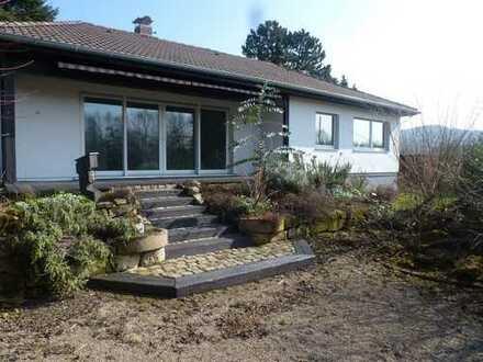 Heppenheim, modernisiertes Einfamilienhaus mit großem Grundstück und tollem Blick auf die Bergstraße