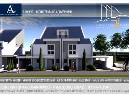 Neubau von 5 exklusiven Einfamilien-Wohnhäusern